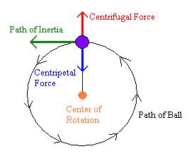 forces and inertia diagram