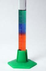 Rainbow Density Column