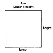Measuring in two dimensions: area