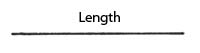 Measuring in one dimension: length