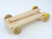Build a Rubber Band Car