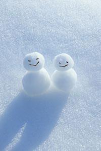 Snowmen - states of matter