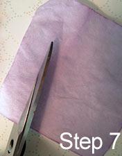 cut filter paper
