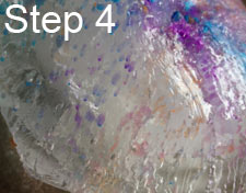 Make an ice painting