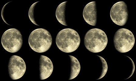 Moon Phases & Stargazing