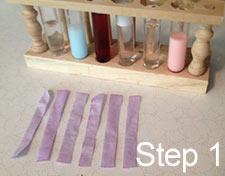 prepare liquids for testing