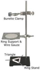 What Is A Wire Ring Clamp Used For In Chemistry