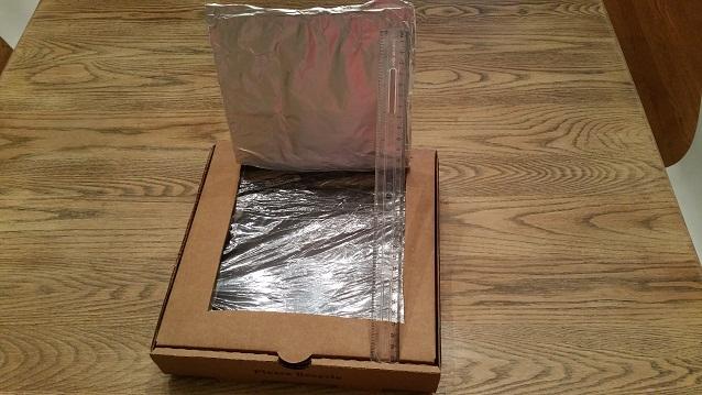 empty solar oven