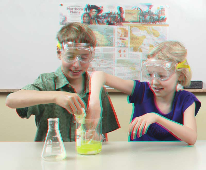 Make 3D Glasses Science Project