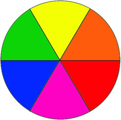 Colorless Color Wheel