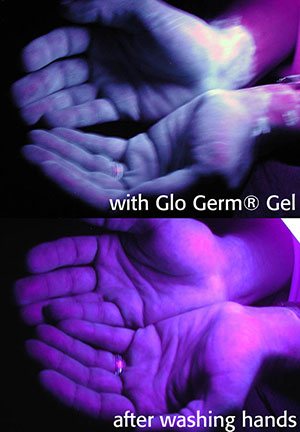 Glo Germ Experiments + Video